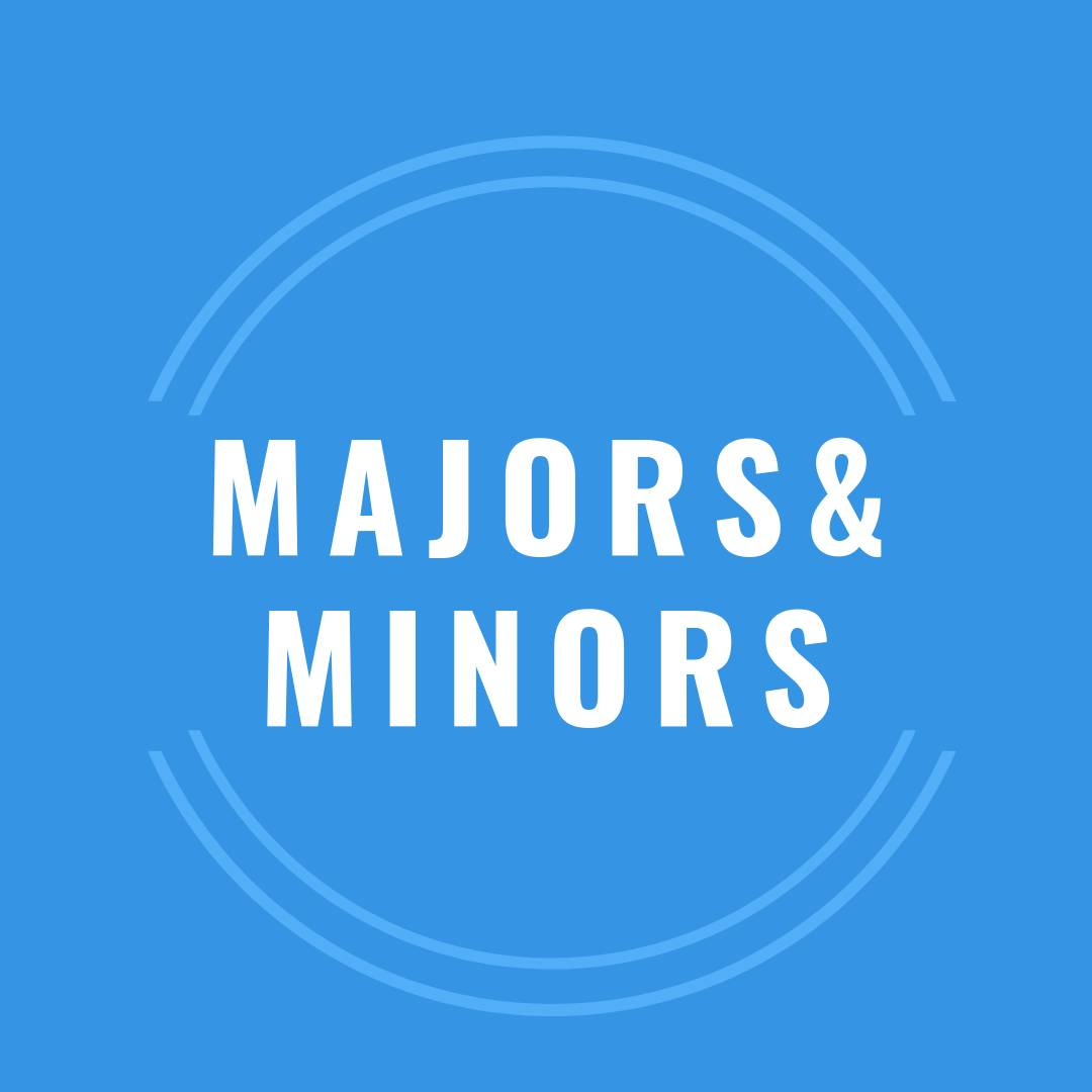 click here to learn about the majors and minors among our consultant staff